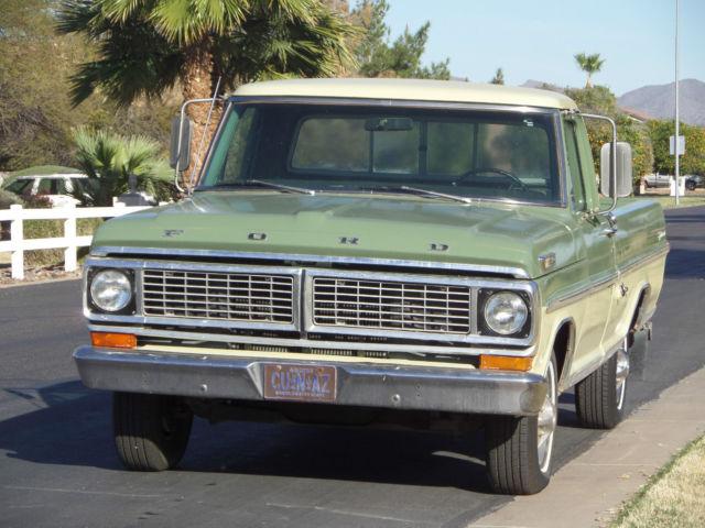 1970 Ford F100 Sport Custom Trim Truck Original 360 Big Block HD ...