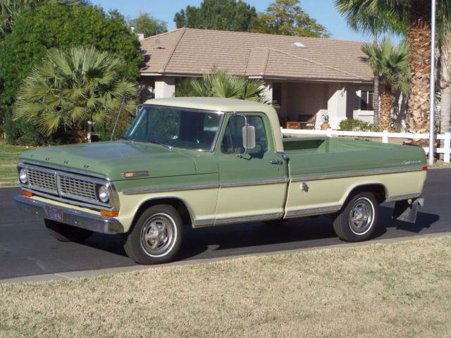 1970 ford f100 sport custom trim truck original 360 big