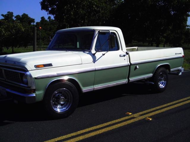 1970 ford f250 3 4 ton pickup truck long bed heavy duty. Black Bedroom Furniture Sets. Home Design Ideas