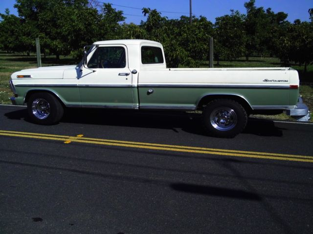 1970 ford f250 3 4 ton pickup truck long bed heavy duty classic 360 v8 automatic. Black Bedroom Furniture Sets. Home Design Ideas