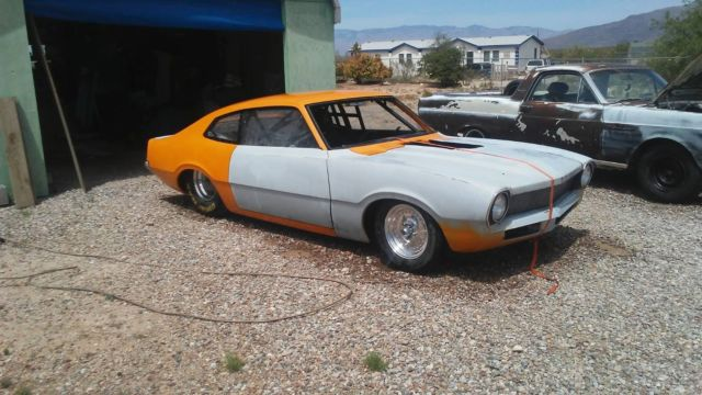 1970 ford maverick 1 5/8 tube chassis Pro-street/DRAG Roller With vin and title!