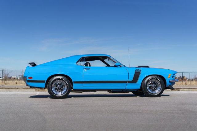For sale 1970 ford mustang 302 boss in grabber blue html autos weblog