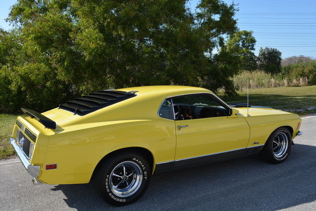 Used Cars West Palm Beach >> 1970 Ford Mustang Mach 1 Grabber Yellow 351 CID Auto Marti ...