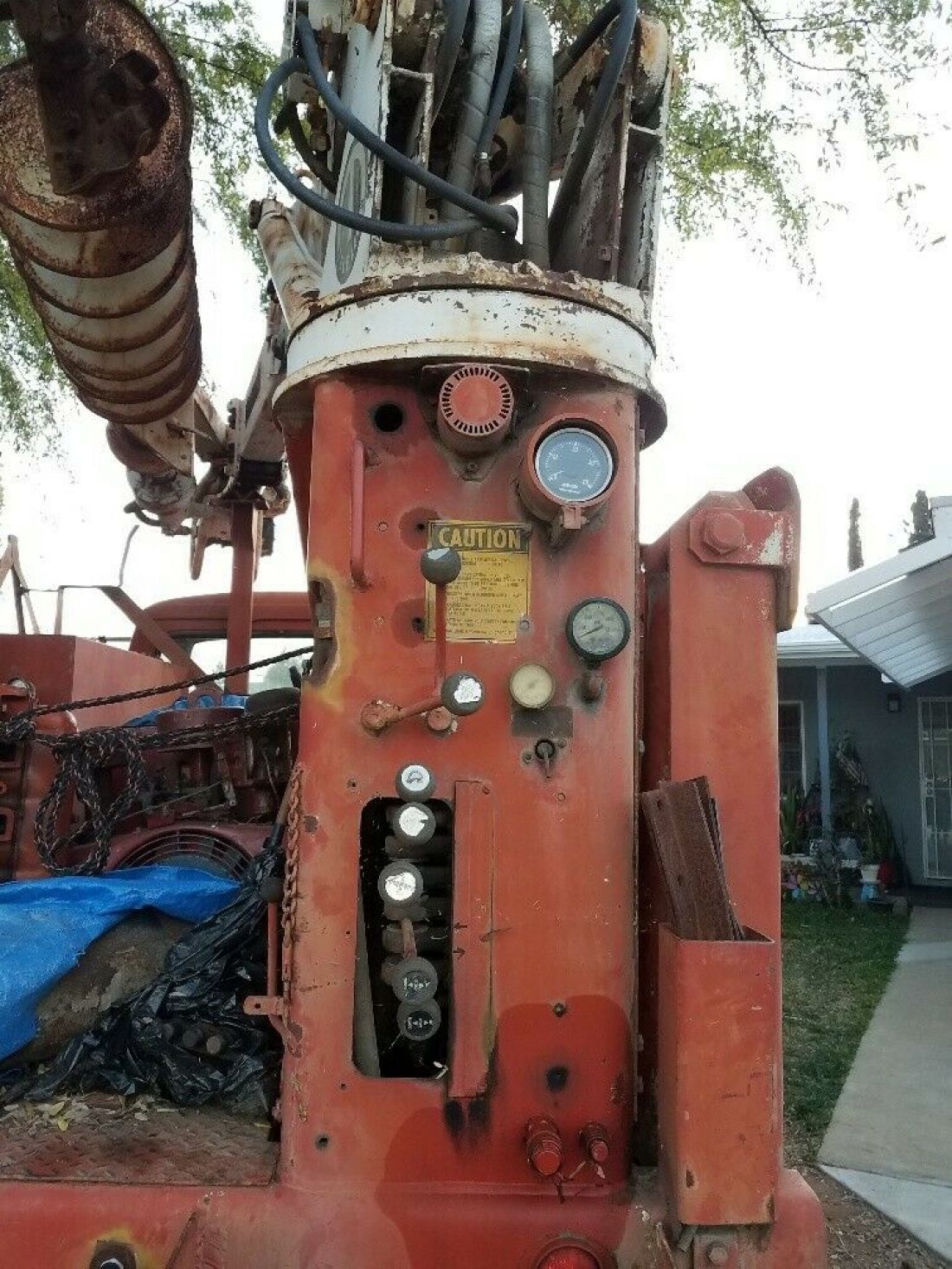 1970 International Harvester Loadstar 1700 4x4 With Tel