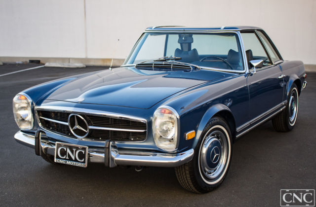 1970 mercedes benz 280 sl 280sl 280 sl restored very for Mercedes benz ontario phone number