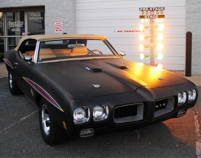 Grand Prix Driving School >> 1970 PONTIAC GTO JUDGE TRIBUTE 455 4 SPEED DAZED AND ...