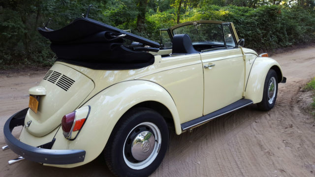 1970 VW Beetle Convertible 18 000 orig miles Super Solid