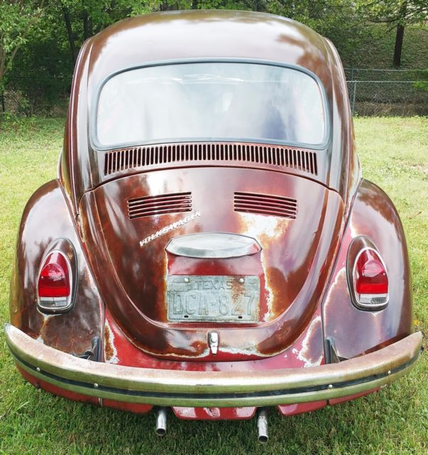 Vw Bug Engine Case For Sale: 1970 VW Bug Patina With Clear Coat Numbers Matching