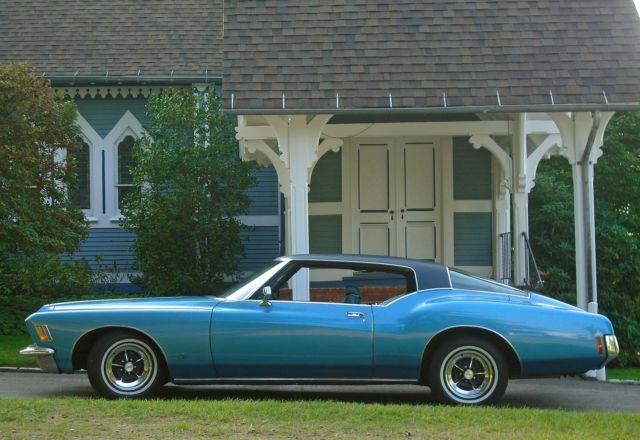 1971 Buick Riviera Boat Tail 60K Original Miles Protecto ...