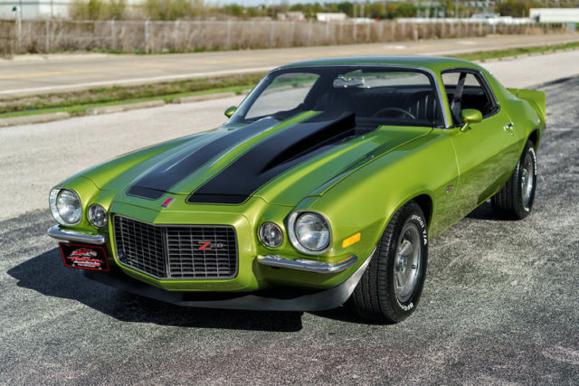 1971 chevrolet camaro z 28 big block 396 4 speed rs split bumper. Black Bedroom Furniture Sets. Home Design Ideas
