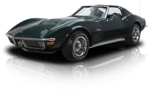 1971 Chevrolet Corvette 82270 Miles Brands Hatch Green