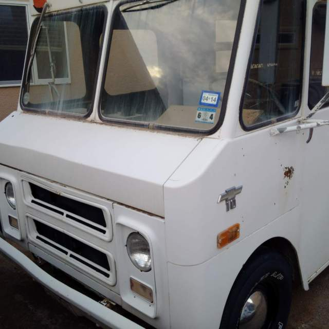 1971 Chevrolet P10 Van Shorty Step Van Food Truck