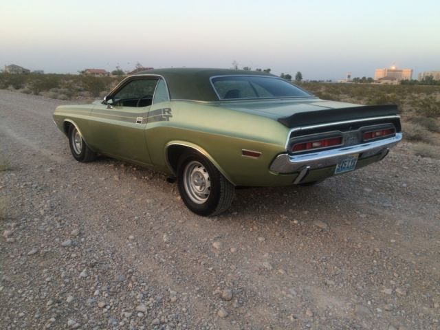 1971 dodge challenger base coupe 2 door 5 6l 340. Black Bedroom Furniture Sets. Home Design Ideas