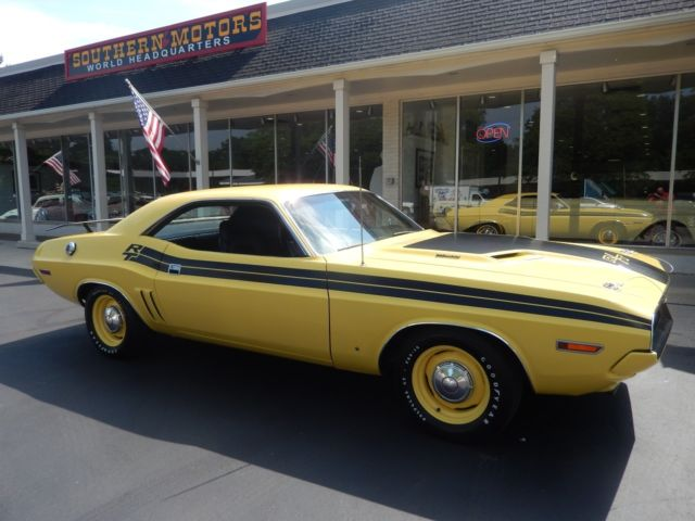 1971 Dodge Challenger R T 1 Of 465 Produced 383 Pistol