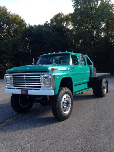 Ford F350 4 Door Extended Cab >> 1971 ford f750 4x4 4 door crew cab f350 f350 f450 f550