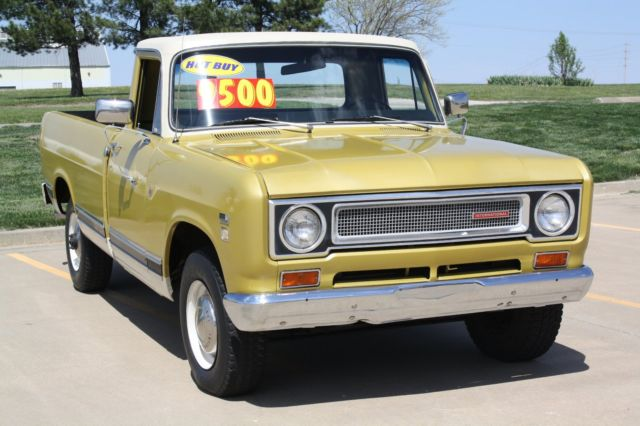 International Scout  Long Bed