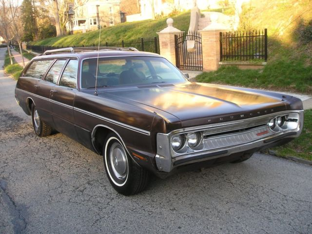 1971 Plymouth Fury Full Size Station Wagon