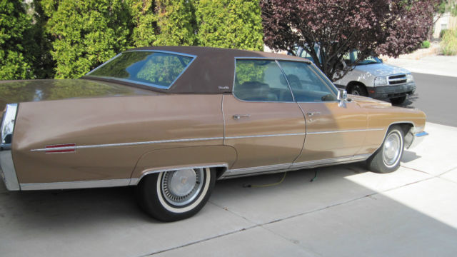 1972 Cadillac Deville Very Good Condition No Major Body