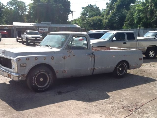 1972 CHEVROLET C 10 LONG BED PROJECT