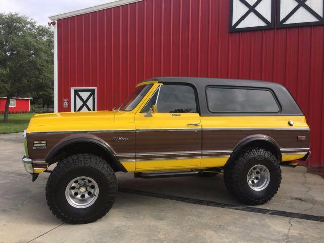 1972 Chevrolet K5 Blazer Lifted Big Block Cheyenne Wood