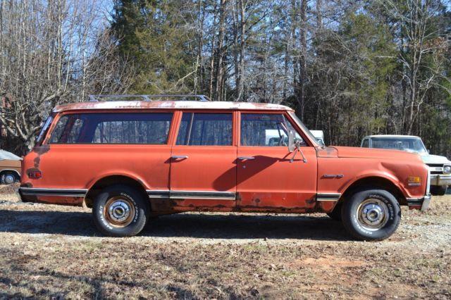 1972 chevy suburban c10 3 door with barn doors 350 v8 auto for 10 door suburban