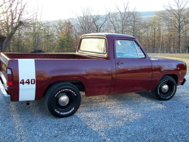 1972 Dodge D100 Short Bed Pick-Up 440 AT Drive Home this ...