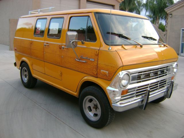 1972 Ford Econoline Van E100 Shorty 302v8 70 S Fac Paint