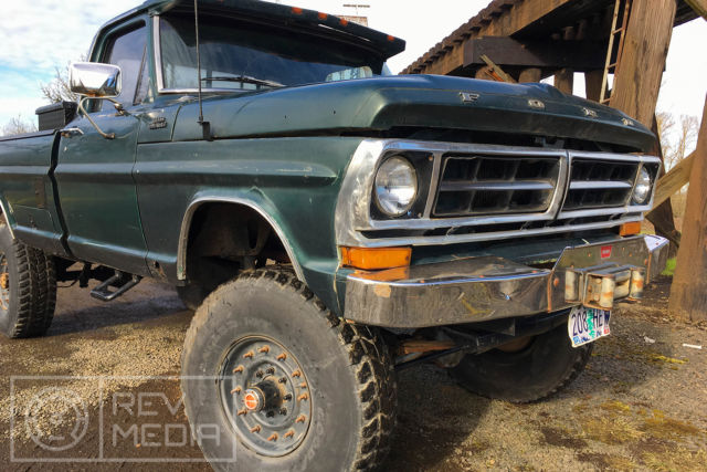 1972 Ford F250 4x4 For Sale >> 1972 Ford F250 Highboy Lifted 4x4