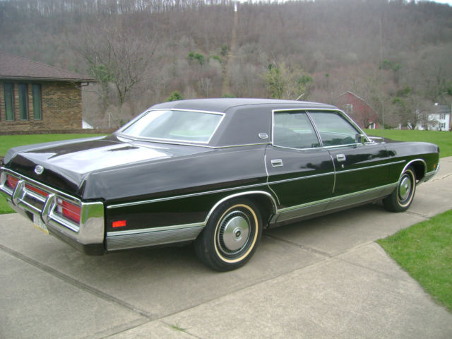 1972 Ford Ltd For Sale >> 1972 Ford Galaxi LTD Brougham 4-Door 429 Cubic Inch 4-Barrel Beauty Collectible