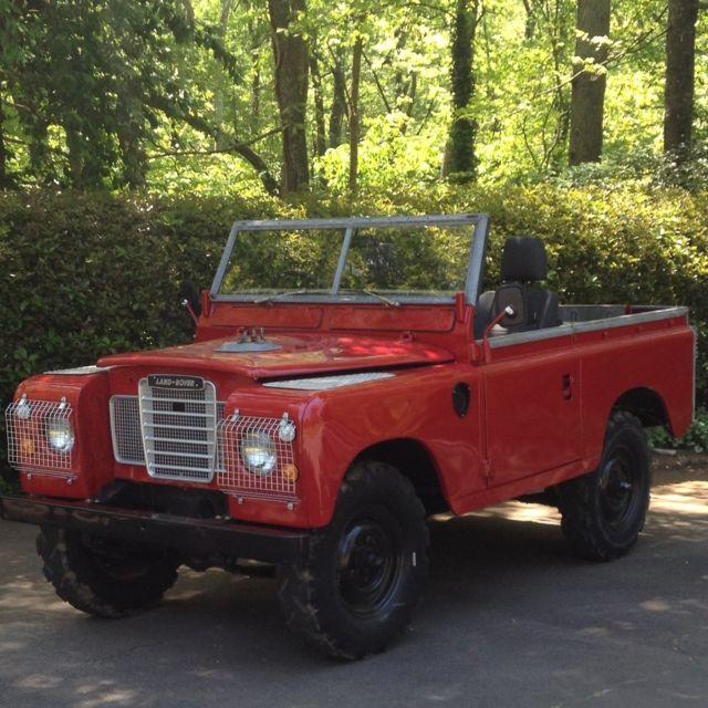 "1972 Land Rover Series III 88""wheel Base"