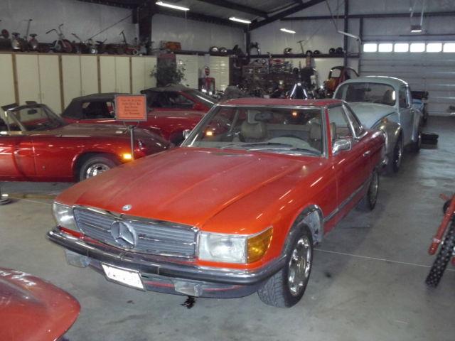1972 mercedes 350 sl convertible needs restoration runs for 1972 mercedes benz 350 sl