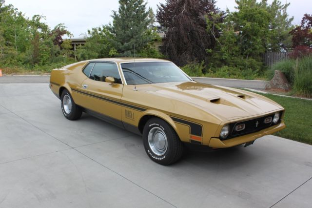 1972 mustang mach 1 warehouse find. Black Bedroom Furniture Sets. Home Design Ideas