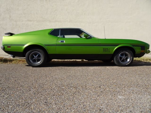 1972 mustang mach 1 351c q code video. Black Bedroom Furniture Sets. Home Design Ideas