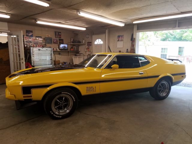 1972 mustang mach 1 cobra jet 4 speed numbers match. Black Bedroom Furniture Sets. Home Design Ideas