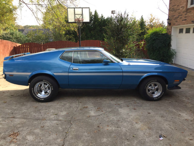 1972 mustang mach 1 low price. Black Bedroom Furniture Sets. Home Design Ideas