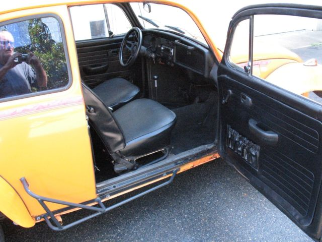 Beetle Cars For Sale Near Me >> 1972 Orange Baja Bug Super Beetle