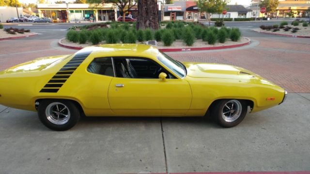 1972 Plymouth Roadrunner Satellite 440 Fast And Loud Drive