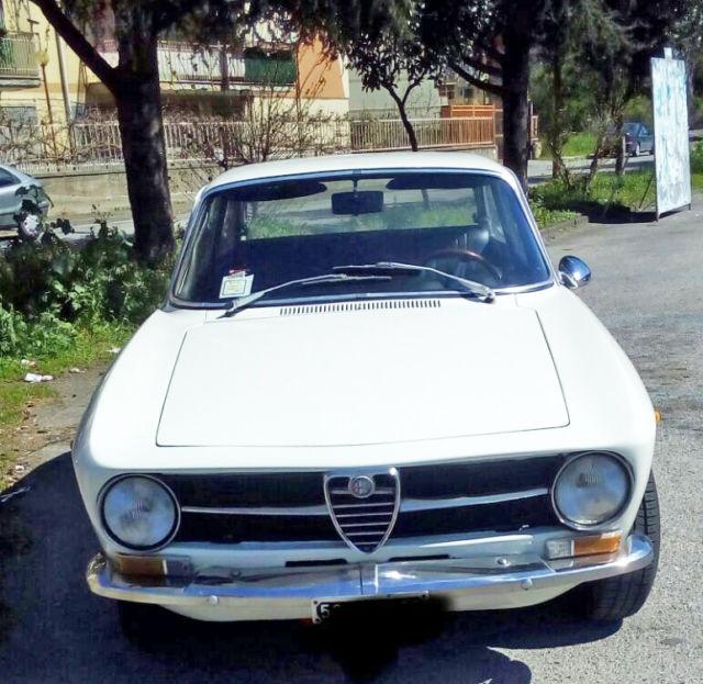 1973 Alfa Romeo GT 1300 Junior White