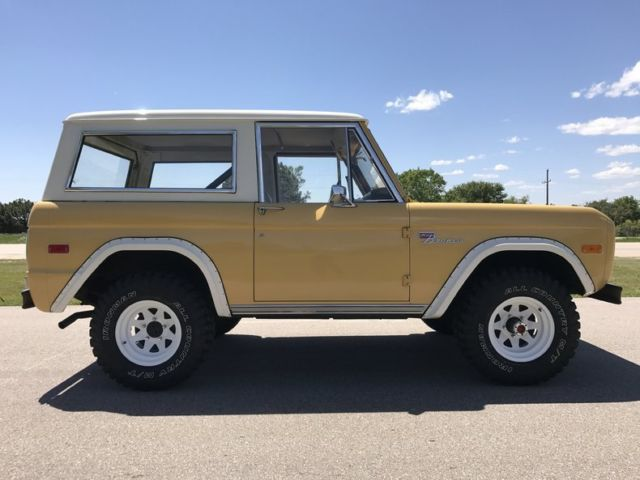1973 ford bronco sport 4x4 mint survivor one family owned