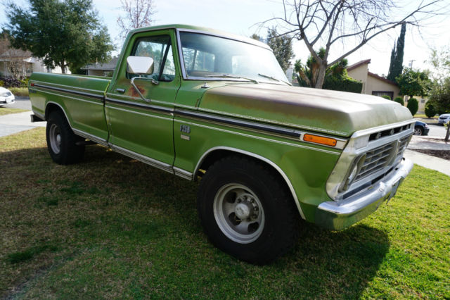 1974 Ford F100 Ranger Xlt 411533 further 33648 1978 Ford Bronco In Excellent Condition 460 Big Block 4x4 together with Watch moreover Flareside Roll Bar Bed Dimension 127105 together with Main Relay Location 4681. on ford ranger fuel pump location