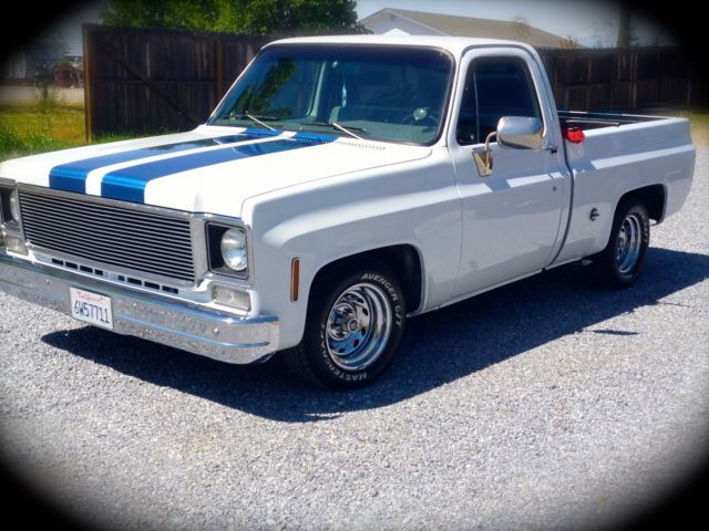 1973 GMC Classic/Custom C1500 Wide Body, 383 stoker & more ...