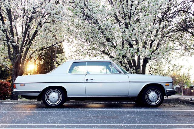 1973 mercedes benz 280c 280 coupe w114. Black Bedroom Furniture Sets. Home Design Ideas