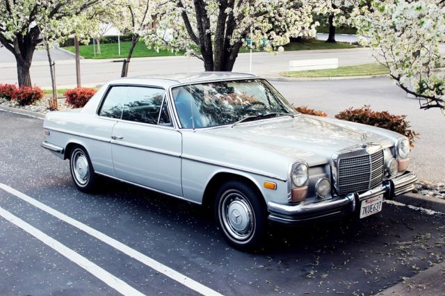 1973 mercedes benz 280c 280 coupe w114. Black Bedroom Furniture Sets. Home Design Ideas