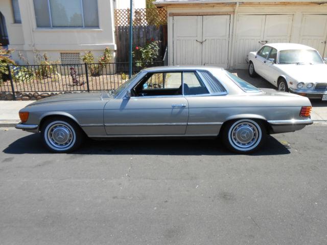 1973 mercedes benz 450 slc nice california coupe for Nice mercedes benz