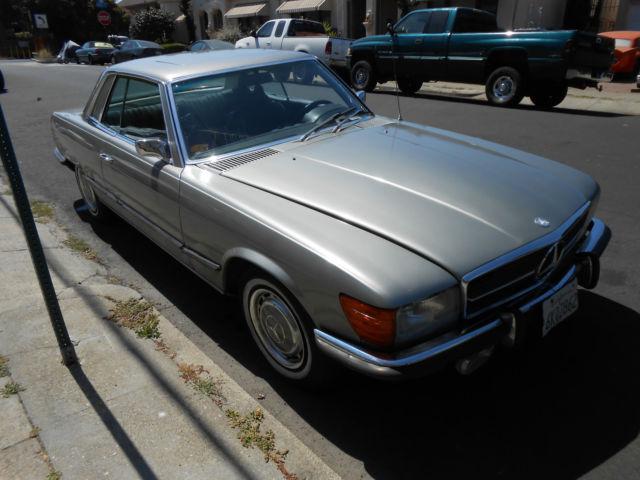 1973 mercedes benz 450 slc nice california coupe for Mercedes benz 450 slc