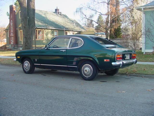 1973 mercury capri 2600 v6