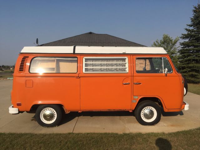 1973 volkswagen bus vanagon camper campmobile. Black Bedroom Furniture Sets. Home Design Ideas
