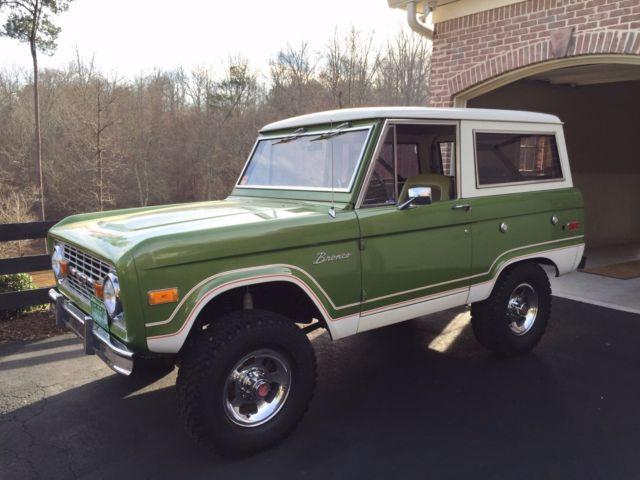 1974 Bronco Ranger 38k original miles
