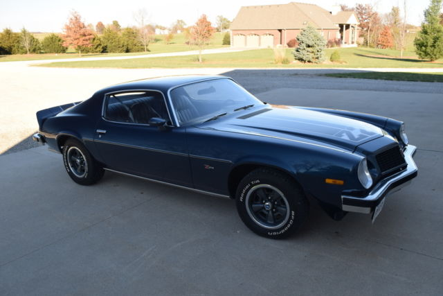 1974 Camaro Z28 With Matching Numbers