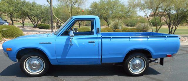 1974 Datsun 620 Pickup Original And Low Mile Arizona Classic Rare Find